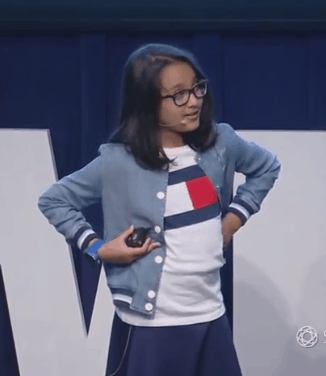 Samaira Mehta In ted Talk