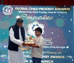 Global Child prodigy Award winner 2020