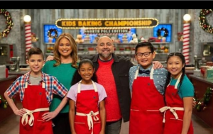 Alex at the Kid's Baking Championship